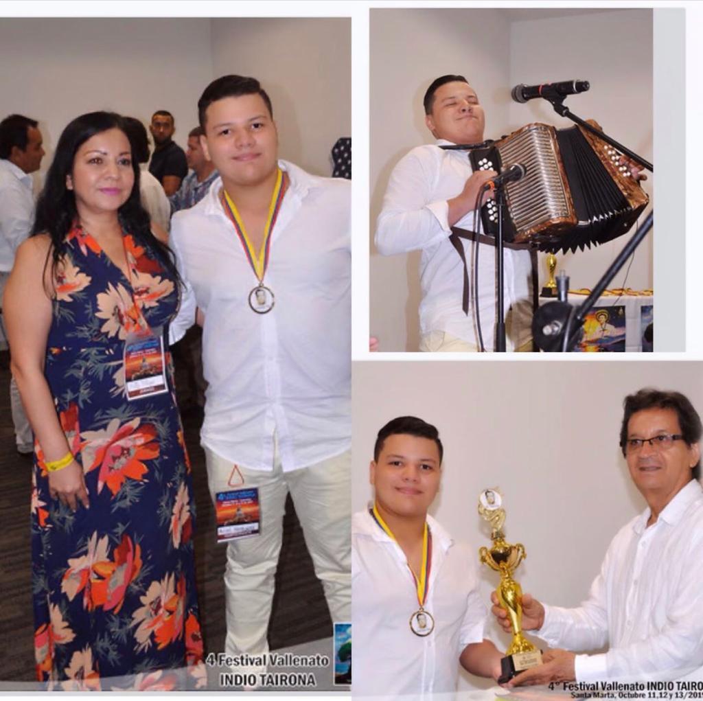 Aficionado 3er Lugar: Ariel David Noguera Muñoz