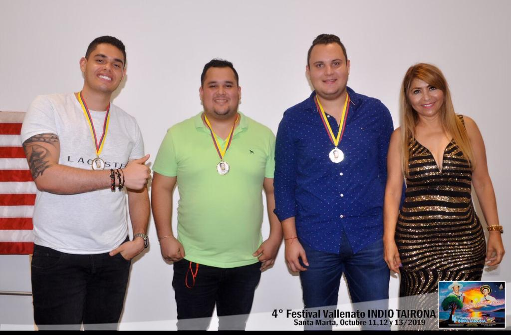 Primer puesto: Jorge Alonso Vergel, Nicolas Pezzano Farelo, Fabrizio Bornacelli